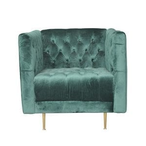 velvet armchair for hire