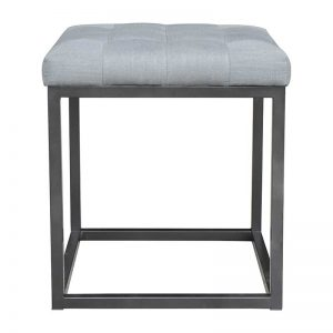 linen ottoman for hire